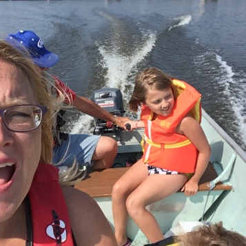 Boating on the Rainy River - Trump on one side, Trudeau on the other